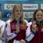 В первый день соревнований – три медали