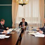 Дмитрий Азаров и Сергей Анташев обсудили бюджет Тольятти на 2019 год