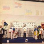 Инна Титаренко — серебряный призер Европы по тхэквондо