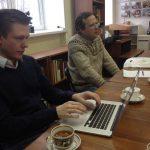 Иностранный исследователь в тольяттинском архиве