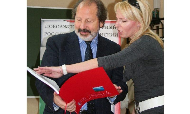 В Тольятти вновь приедет Почетный консул Италии Джангуидо Бреддо
